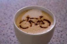 Macchiato con bici